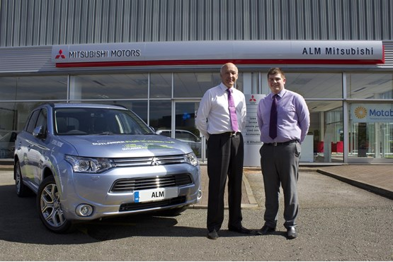 ALM Garages opens Mitsubishi franchise in Macclesfield