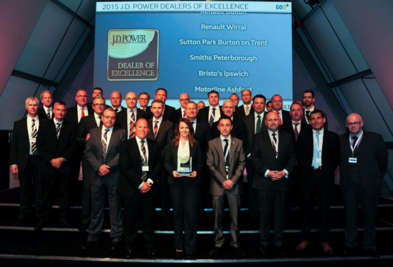 Renault JD Power dealers of excellence