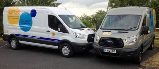 Manheim marks Ford Transit's 50th birthday