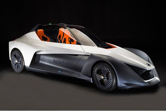 Nissan Previews Future Electric Vehicle Tech And Design With