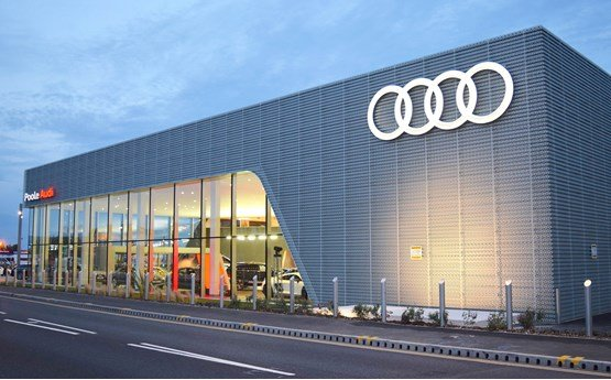 Ocean automotive unveils uk s largest audi centre in poole