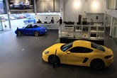 Porsche Centre Bolton refurb showroom 2018