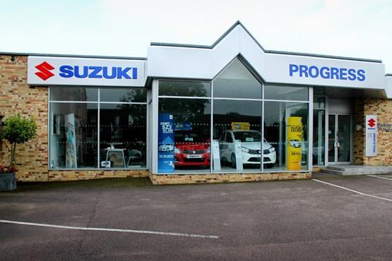 Progess Milton Keynes Suzuki in 2015