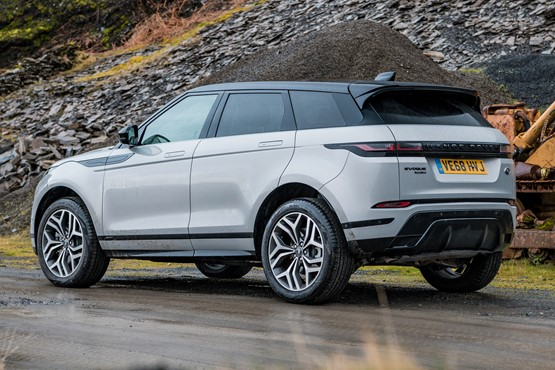 New Range Rover Evoque: cameras help to remove SUV blind spots | General
