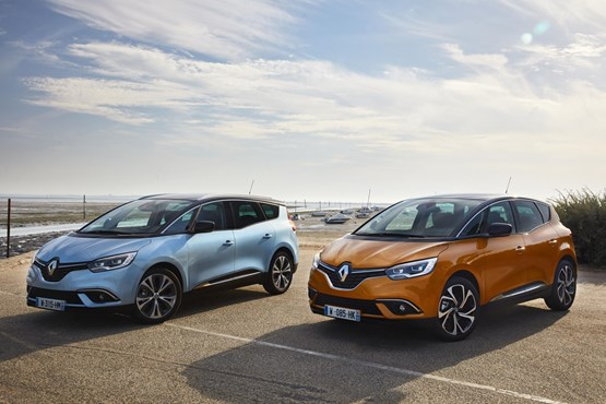 The fourth-generation Renault Scenic and Grand Scenic