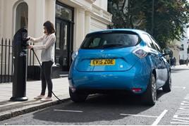 The Renault Zoe EV