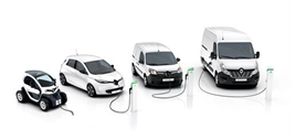 Renault electric range - 2017