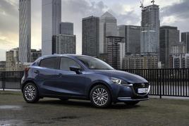 The 2022 Mazda2 hatchback