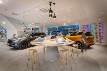 Ford of Britain's retail store at Next's Arndale Centre store in Manchester