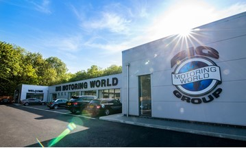 Big Motoring World used car supermarket