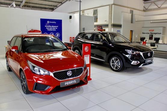 Inside Perrys Group's new MG Motor UK dealership in Aylesbury