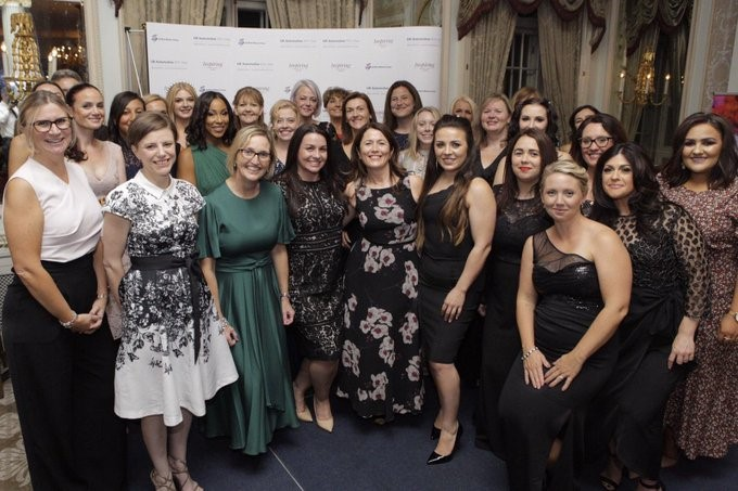 Inspirational: winners at the UK Automotive 30% Club's Inspiring Automotive Women Awards 2019