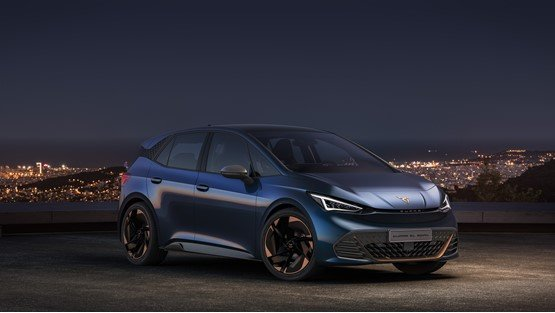 The Cupra el-born performance EV