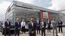 Award winners: the Steven Eagell leadership team