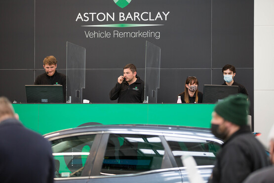 Strict COVID-19 safety measures are being observed at Aston Barclay's auction sites