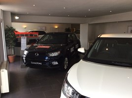 DS Dalgleish & Son's new SsangYong Motor UK dealership in Coldstream