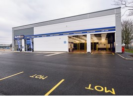 Kwik Fit MOT garage