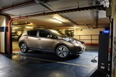 NissanLeafcharging