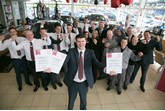 Bristol Street Motors Nissan Darlington wins customer quality award