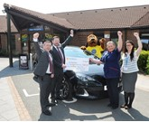 Bristol Street Motors Vauxhall Macclesfield joins forces with local hospice