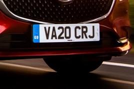 registration plate for '20' VRN