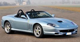 A Ferrari 550 Barchetta Pininfarina