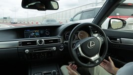Lexus GS Highway Teammate concept