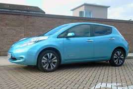 Popular used option: the Nissan Leaf EV