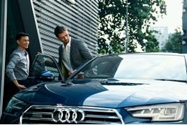 Audi car handover