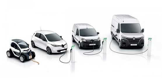 Renault's electric vehicle (EV) options meet retail and fleet customers' needs