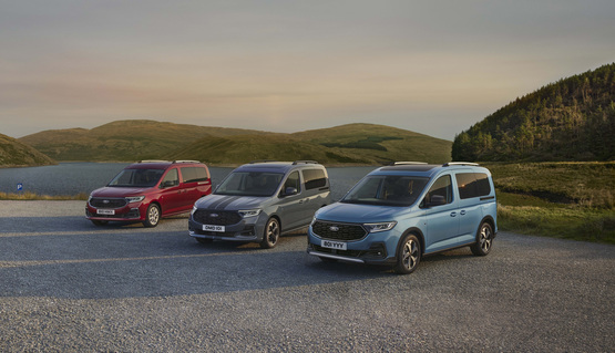The new Ford Tourneo Connect range