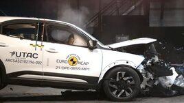 Vauxhall Mokka in Euro NCAP safety testing