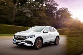 ​Mercedes-Benz all-electric EQA compact SUV