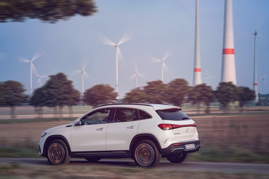 Mercedes-Benz all-electric EQA compact SUV claims to deliver a 250-mile range in EQA 250 guise