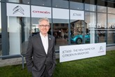 JCT600 chief executive John Tordoff outside Citroen Bradford