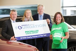 Donnelly Group partner with Macmillan Cancer Support