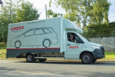 Cazoo delivery vehicle