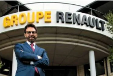 Renault UK managing director, Vincent Tourette