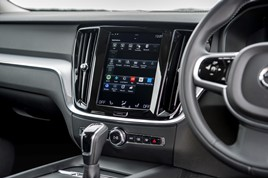 Volvo Sensus touchscreen infotainment system