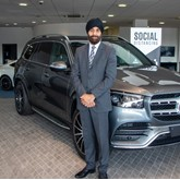Raj Virdee, head of business at Mercedes-Benz of Slough