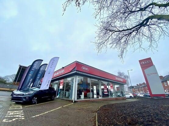 Vertu Motors' Kia Nottingham dealership