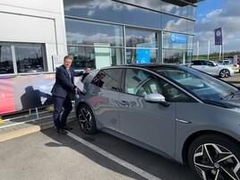 Richard Hawley, EV ambassador at Vertu Volkswagen Harrogate