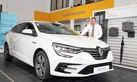 Richard Allchurch, new car sales manager at Bristol Street Motors Renault, Leicester