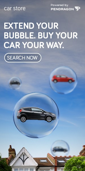 Pendragon's 'Extend your bubble' marketing campaign for Car Store