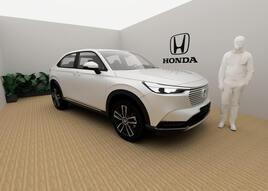 Honda's virtual showroom for the HR-V hybrid