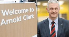 Arnold Clark chief executive Eddie Hawthorne