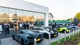 Cambria Automobiles' Grange Motors McLaren Automotive supercar dealership in Hatfield