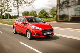 Ford Fiesta: still top of the charts