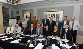 Car retail delegates at the AM Awards 2020 round table discussion in Birmingham