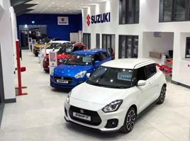 Suzuki GB national dealer of the year 2020, Pearson of Wemyss Bay, Renfrewshire